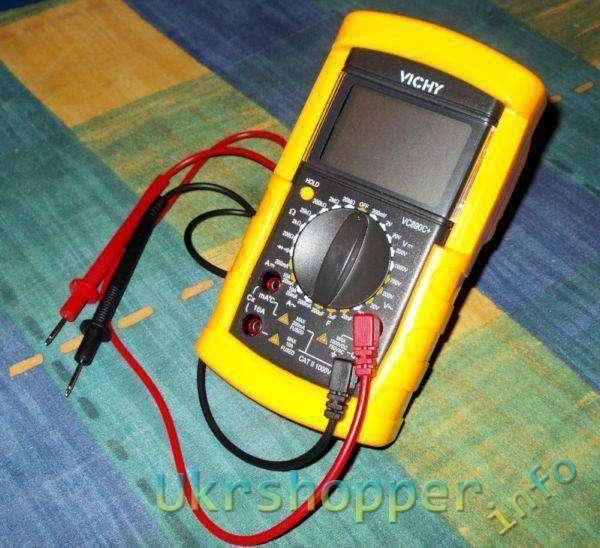 Tmart: Мультиметр Vichi VC890C+
