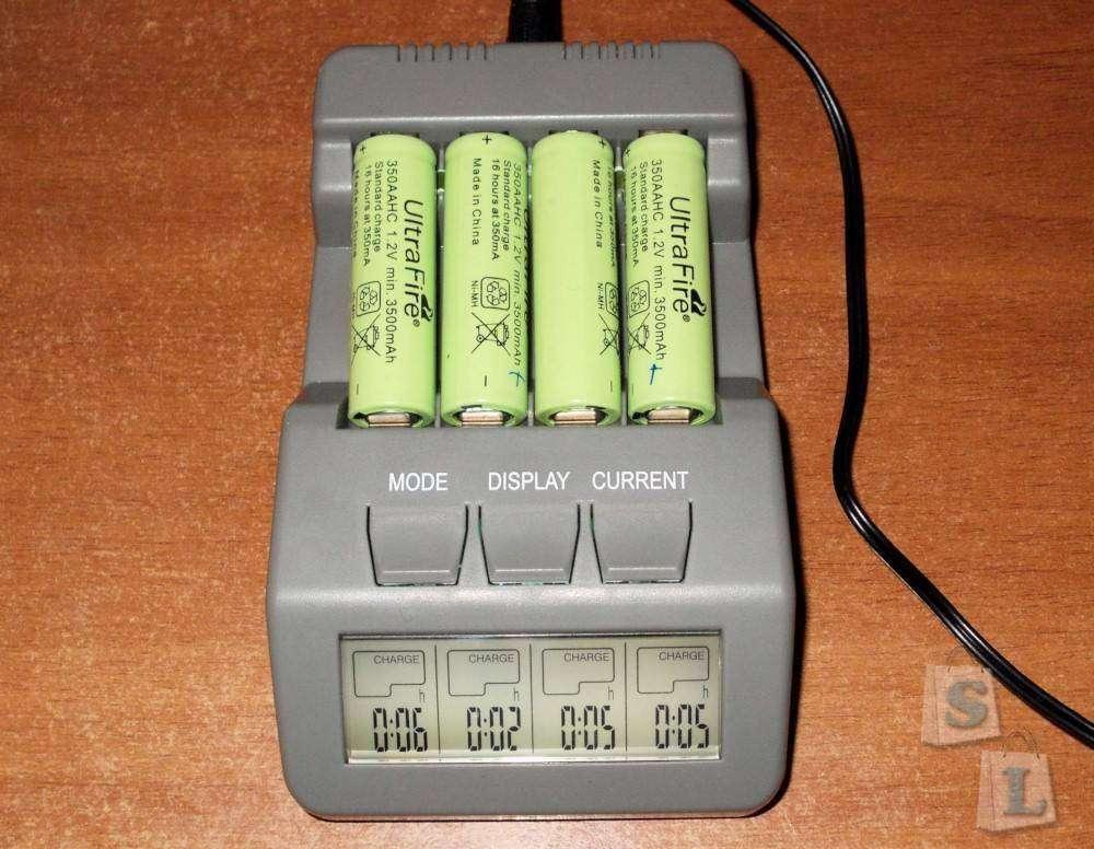 GearBest: Зарядное устройство Opus BT-C700 для аккумуляторов AA/AAA NiCd / NiMH (аналог ЗУ LaCrosse/Technoline)
