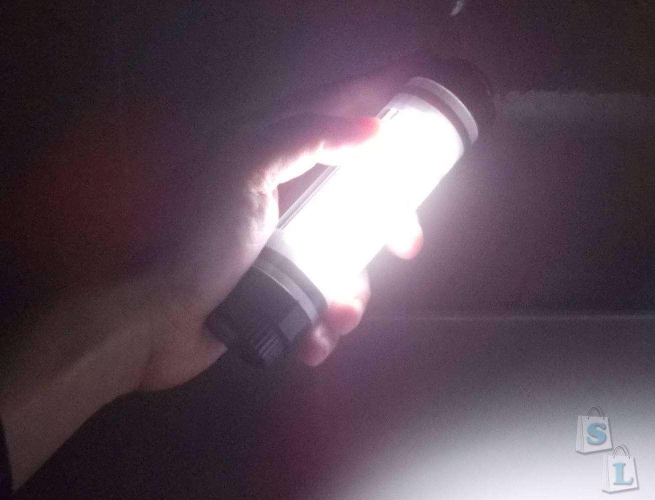 Banggood: Туристический 5-режимный светильник BlitzWolf BW-LT5 с функцией павербанка