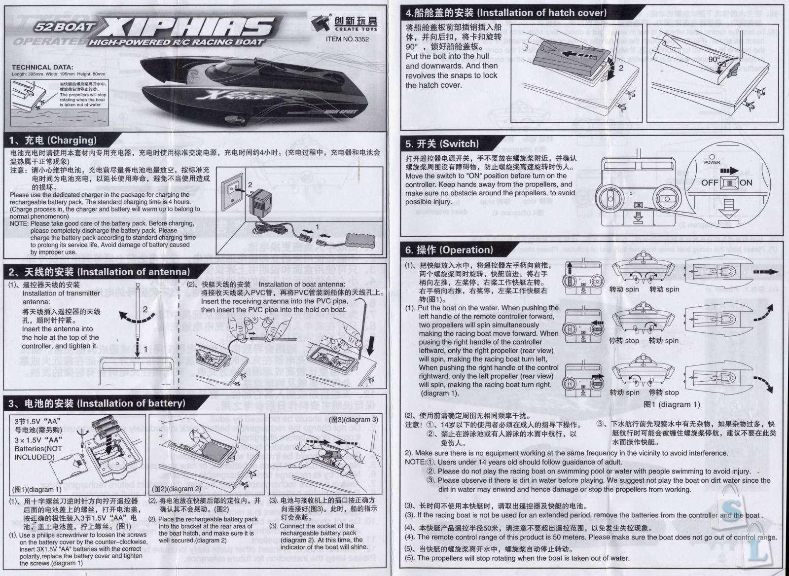 Banggood: Радиоуправляемая лодка с дизайном «под катамаран»