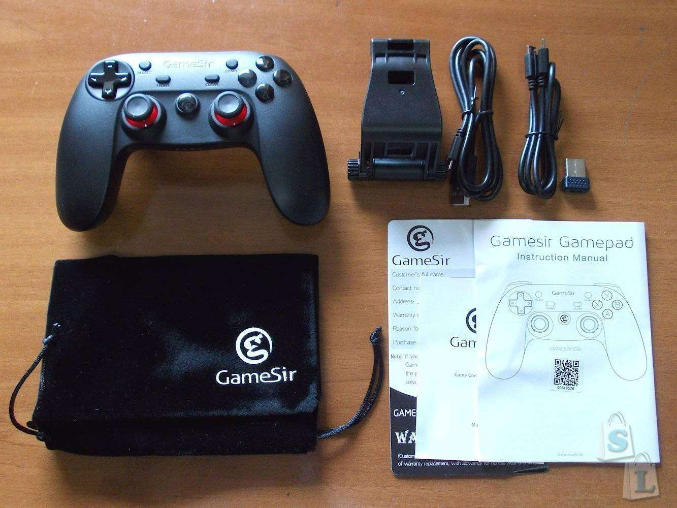 Aliexpress: Bluetooth джойстик GameSir G3s для Android, PC, Mac и PS3