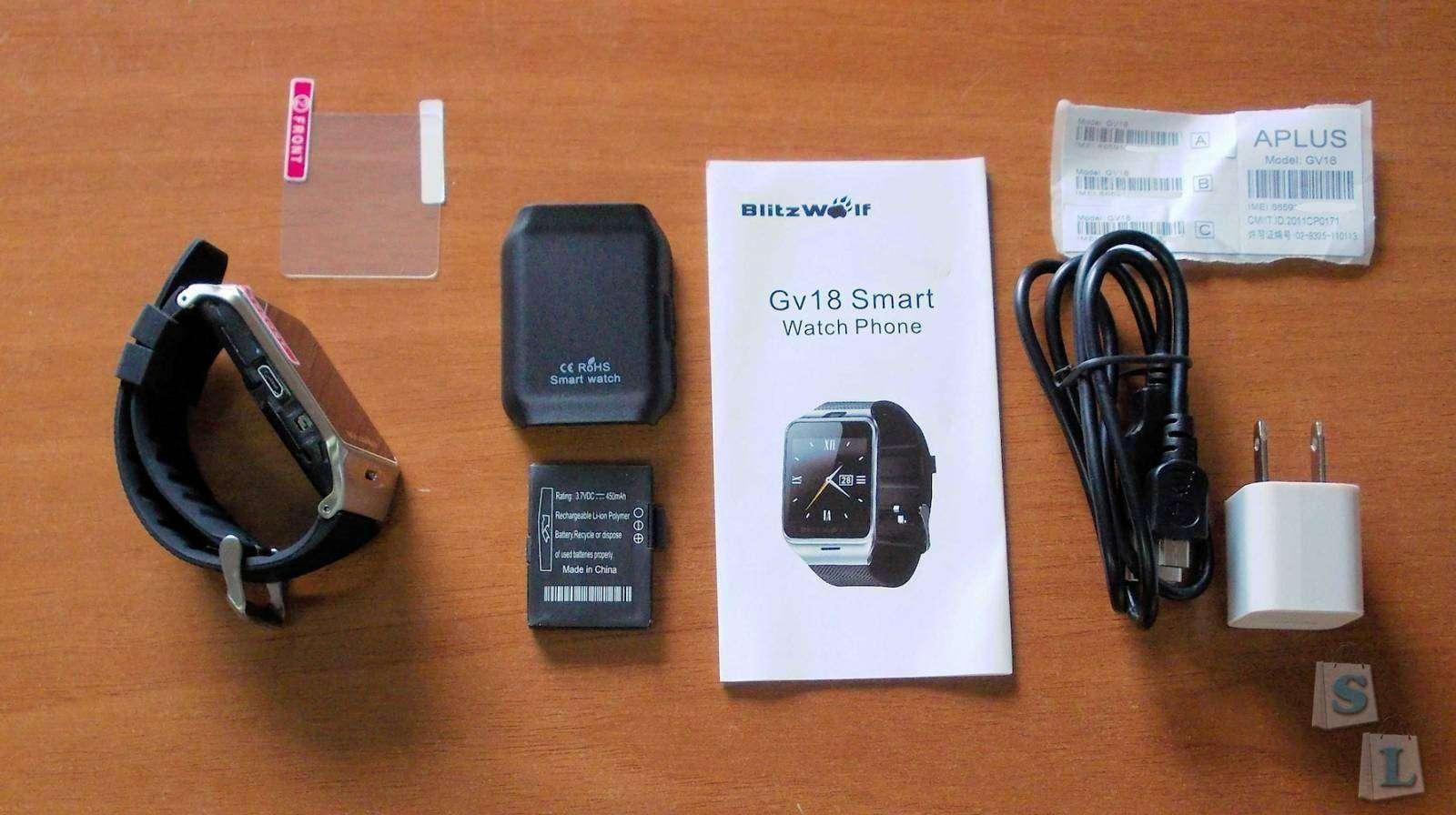 Banggood: Смарт-часы BlitzWolf GV18