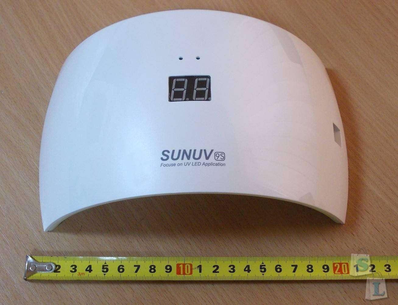 Aliexpress: Светодиодная сенсорная лампа SUNUV9S для сушки гель-лака