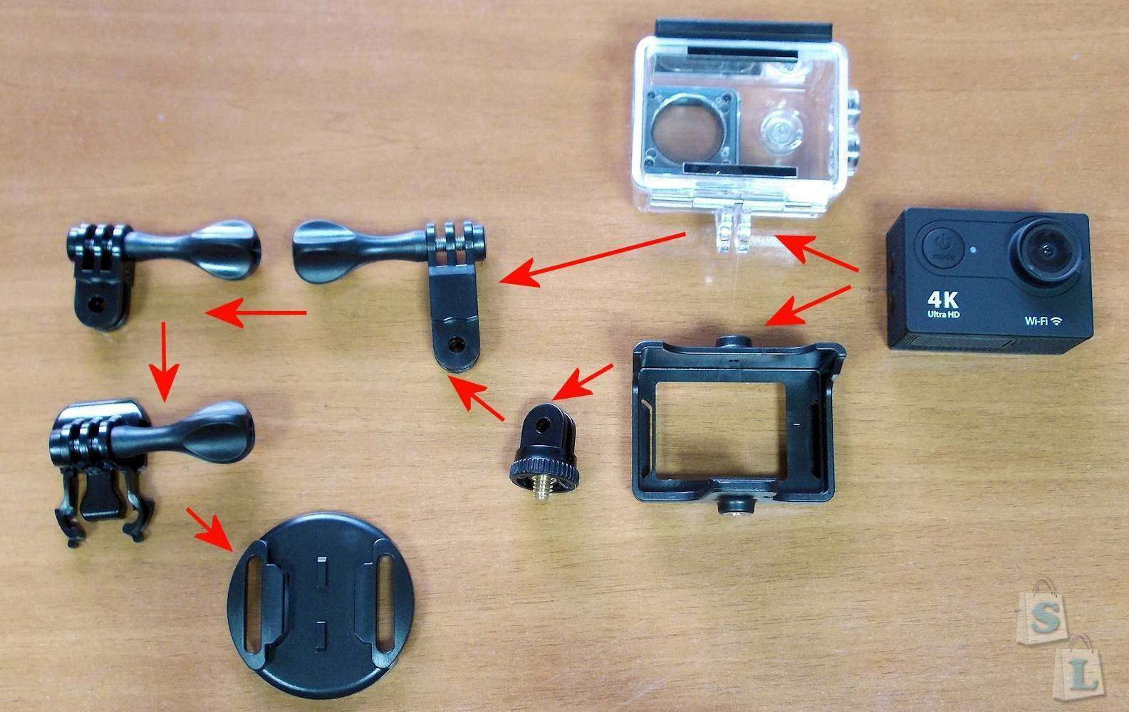 Banggood: Экшен камера EKEN H9 – довольно неплохо для начала