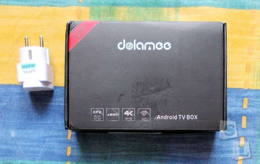 Banggood: Компактный TV Box DoLaMee D5 на Rockchip RK3229 с 2Gb RAM и 8Gb ROM