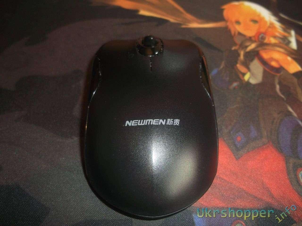 TinyDeal: Недорогая беспроводная мышка NEWMEN.