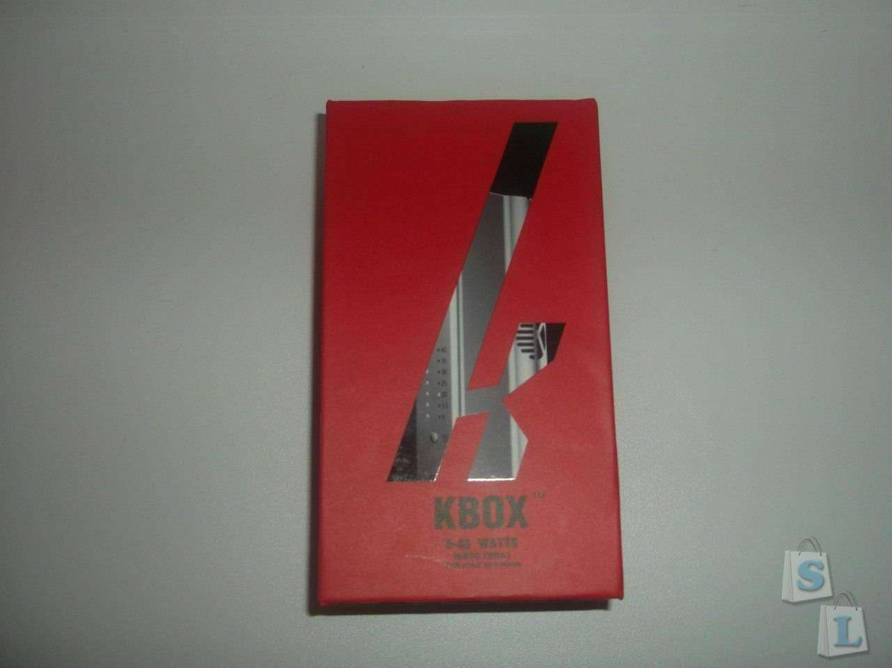 Cigabuy: Kbox-бюджетный боксмод для электронного парения.