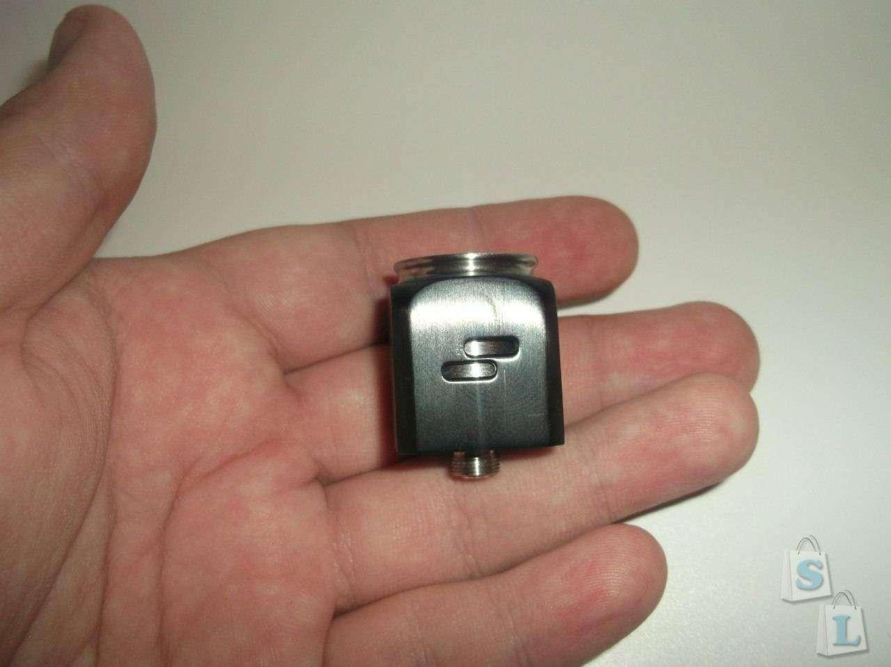 GearBest: Необычная электронная сигарета. Wotofo Atty3 RDA Rebuildable Dripper и механический боксмод Cherry Bomber.