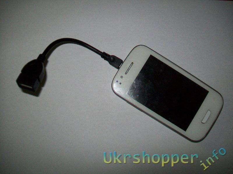 TinyDeal: Переходник микроUSB-USB