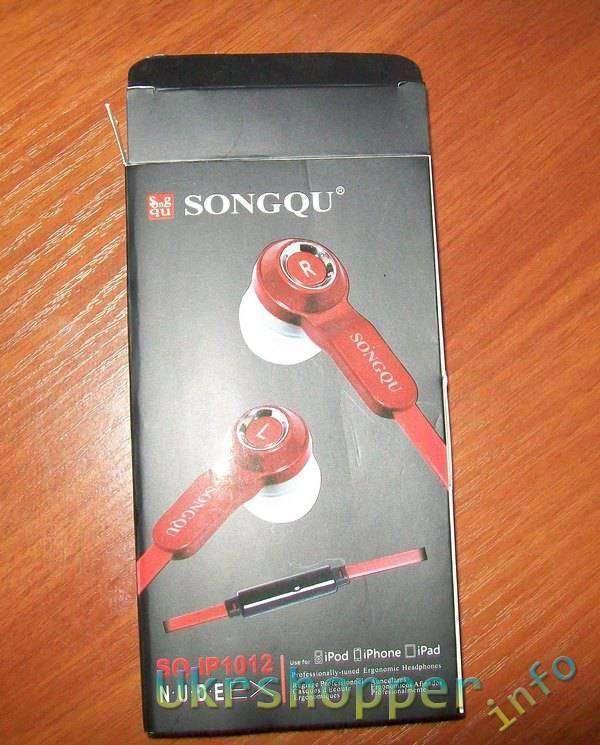 TinyDeal: SONGQU 3.5mm стерео наушники
