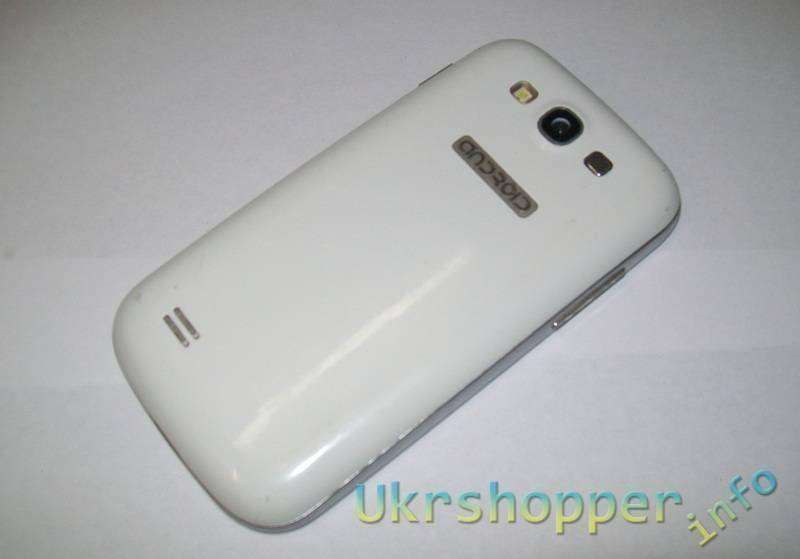 TinyDeal: 3.5' сенсорный экран Android 2.3 OС SP6820 смартфон с WiFi/ Bluetooth/ две камеры - белый P07-N93