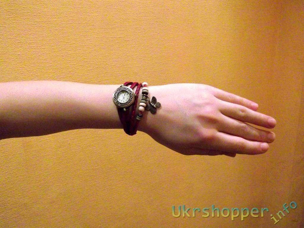 TinyDeal: Часы винтаж с бабочкой