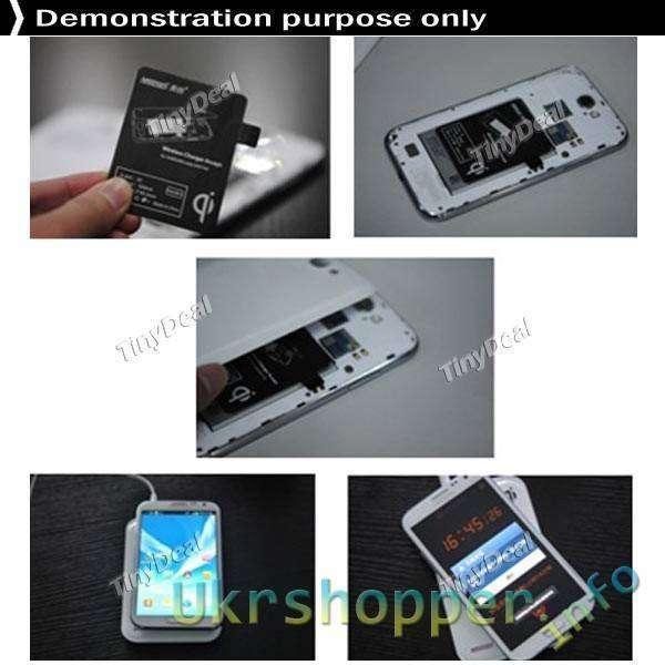 TinyDeal: Универсальный Qi-адаптер с micro-USB для беспроводной зарядки телефонов