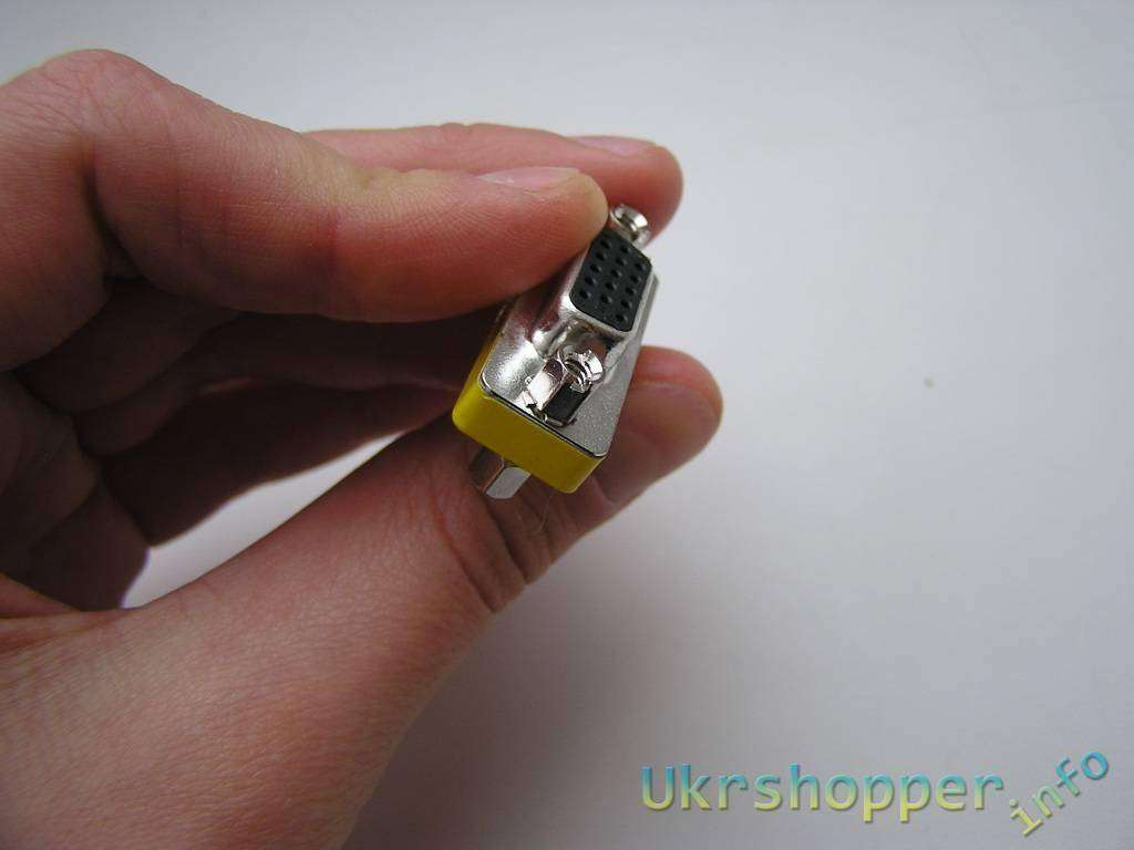 Tmart: 15-контактный VGA (SVGA) переходник мама-мама