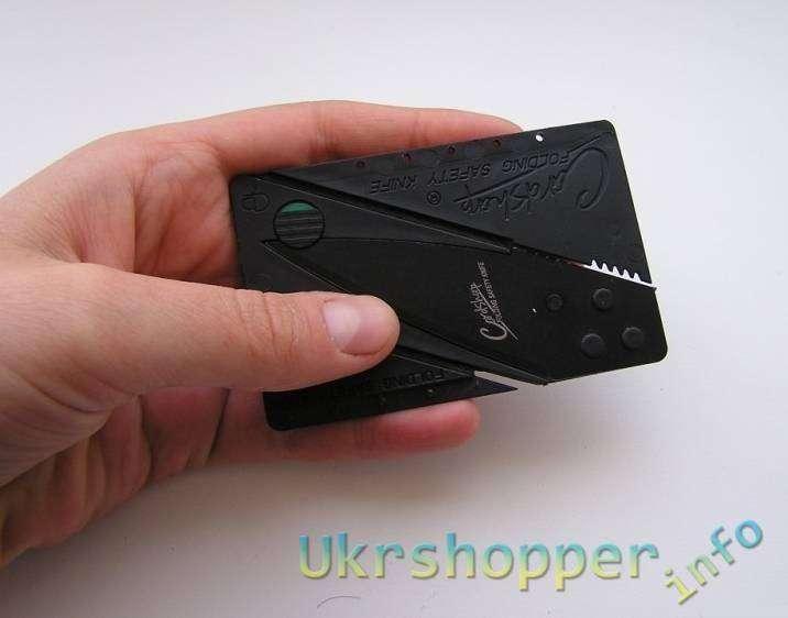 Tmart: Складной нож-кредитка