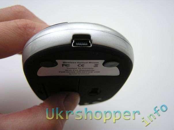 TinyDeal: Радио-мышь с базой-хабом на 3 порта и встроенным зарядником для аккумуляторов