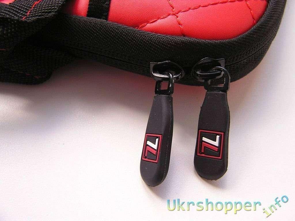 Tmart: Красный защитный непромокаемый чехол для планшета или нетбука 10.2' (29х22х3 см)