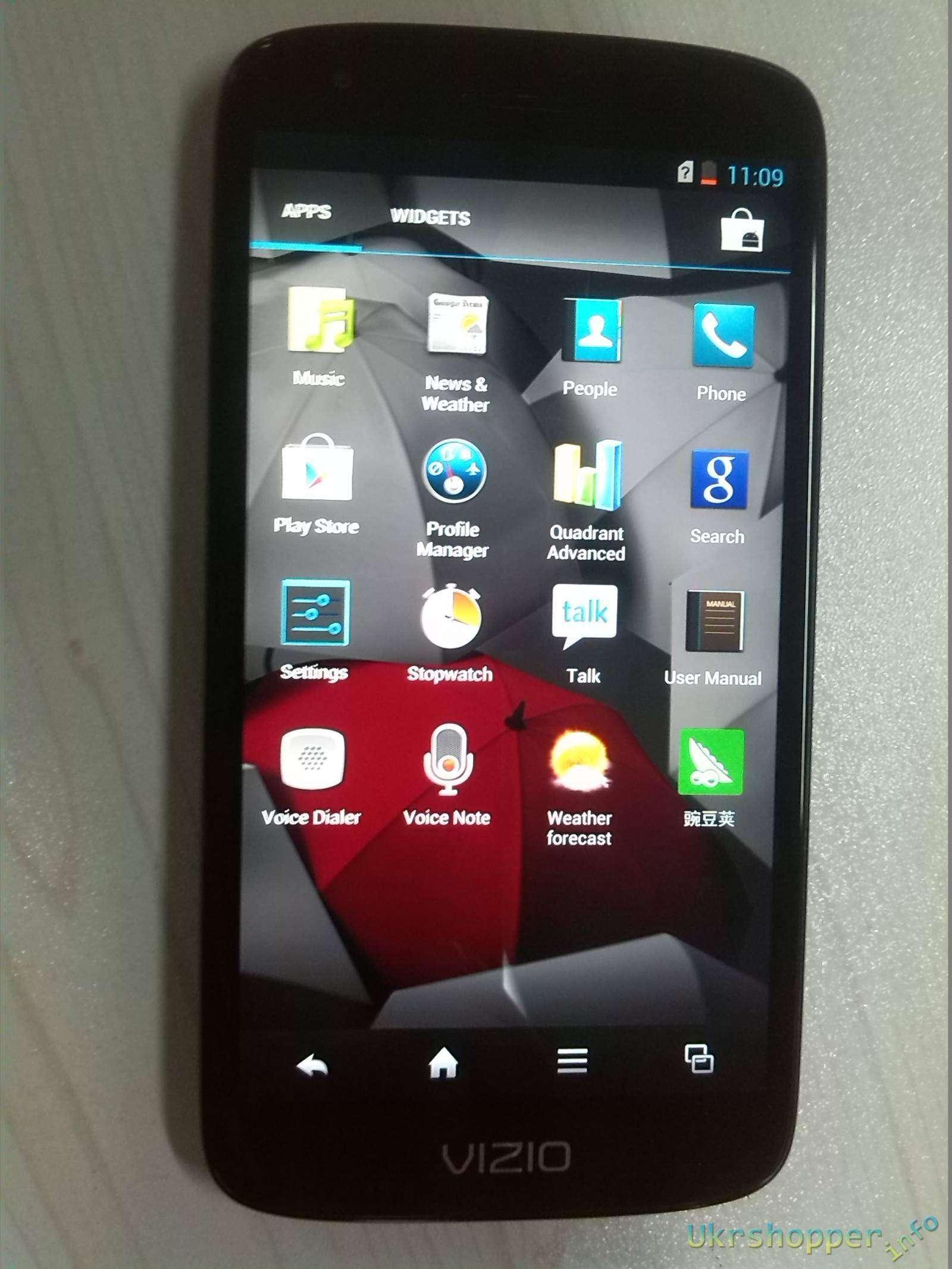 Amazon: Красивый телефончик VIZIO VP800, первые впечатления