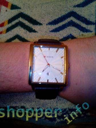 TinyDeal: Часы из китая фирмы curren