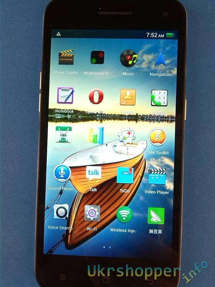 Aliexpress: Смартфон JIAKE JK-10 Ultra-thin Android 4.2.2 MTK6582 1.3GHz Quad Core