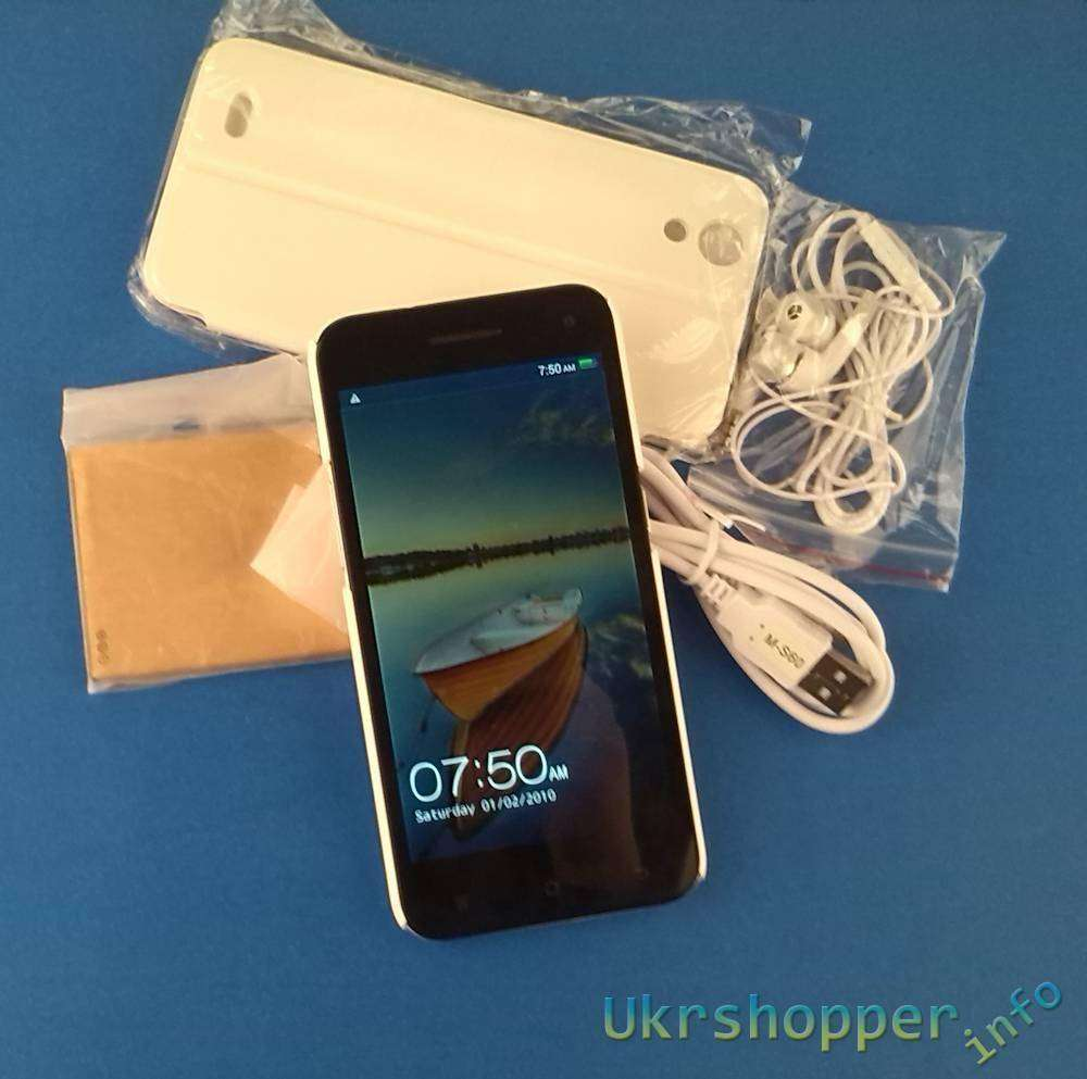 Aliexpress: Смартфон JIAKE JK-10 Ultra-thin Android 4.2.2 MTK6582 1.3GHz Quad Core
