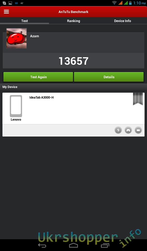 Aliexpress: Обзор планшета Lenovo A3000 Ideapad с 3G