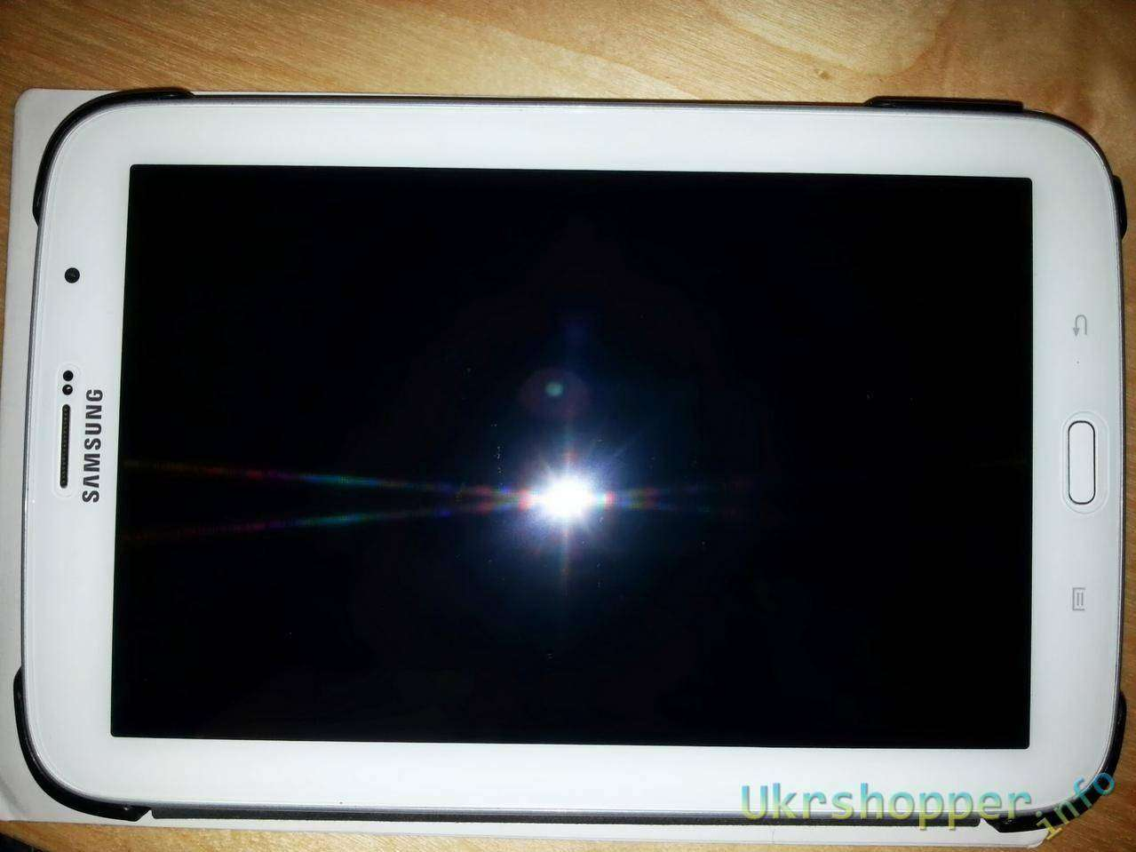 Aliexpress: Обзор защитного стекла для Samsung Galaxy Note 8.0