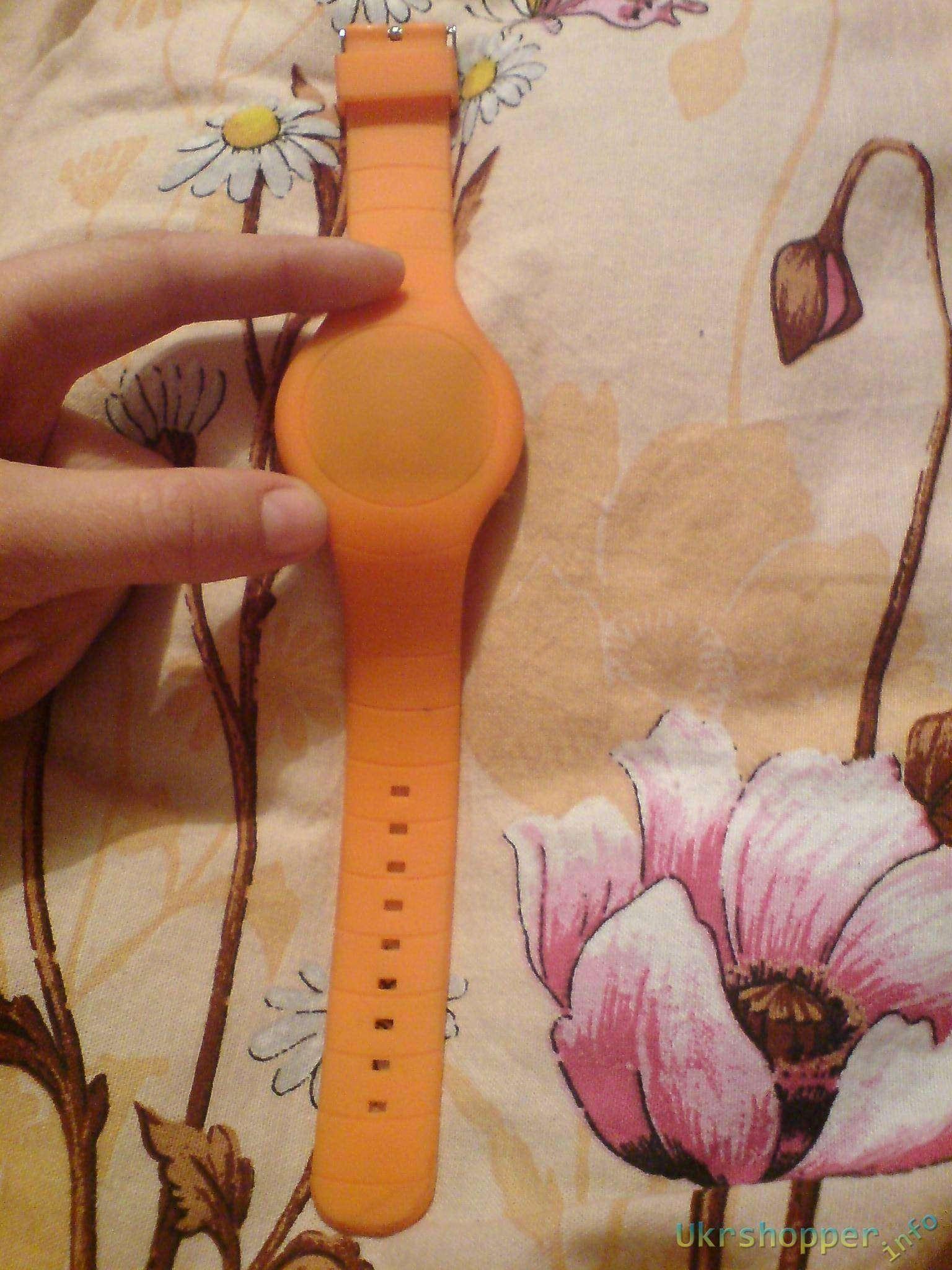 TinyDeal: Милые силиконовые часы загадка.Ultrathin Touch Screen Creative LED Watch Wristwatch Timepiece with Rubber Band for Man Woman WUS-201058