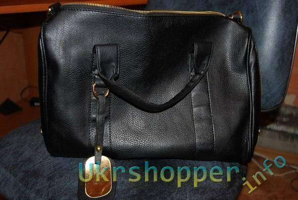 TinyDeal: Моднявая черная сумка. Korean Style Studs Bottom PU Leather Shoulder Bag NBG-51287