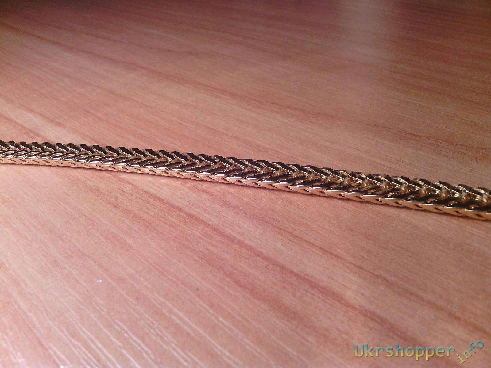 TinyDeal: Комплект: цепочка и браслет