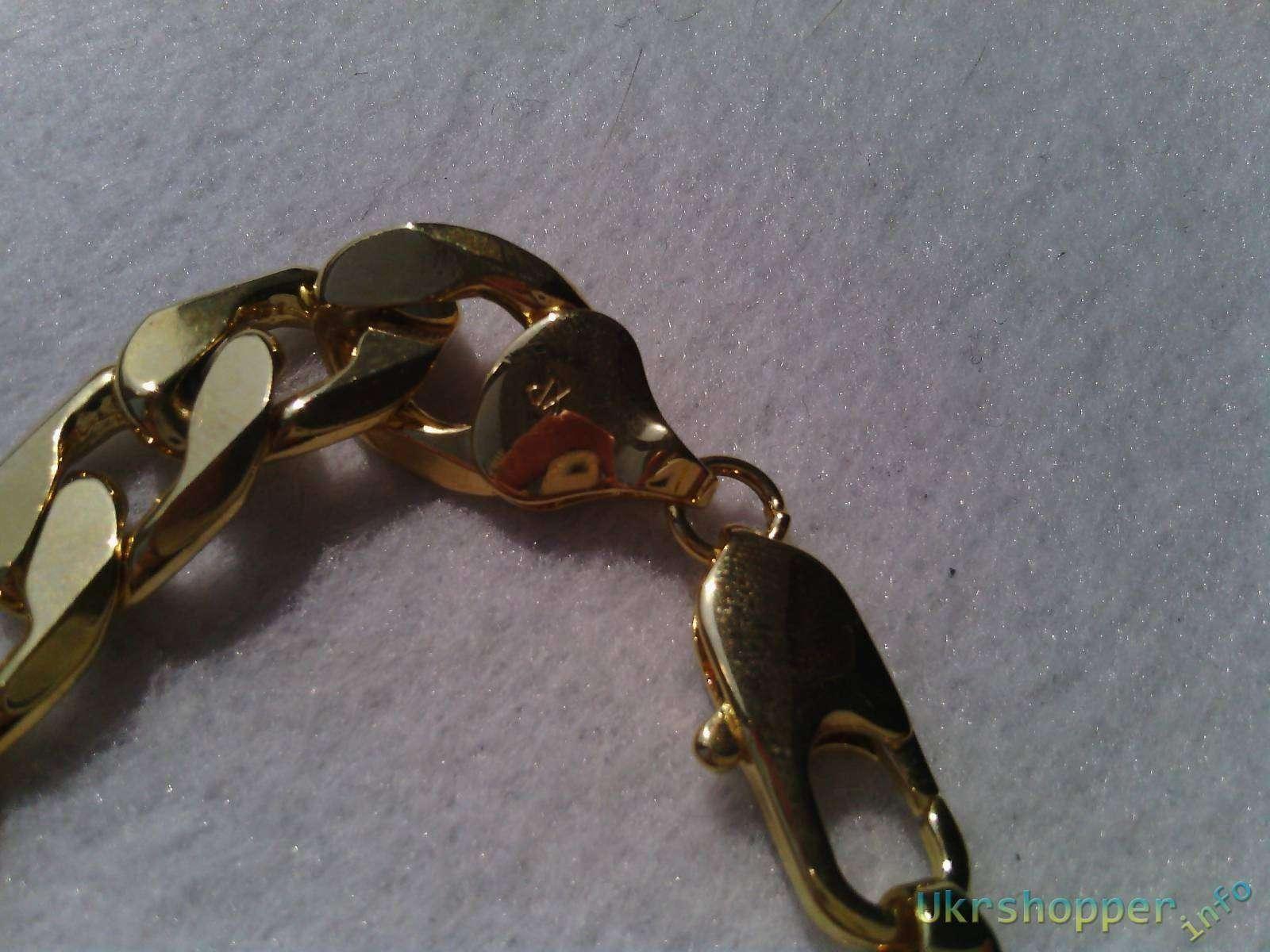 TinyDeal: Отличный мужской браслет!