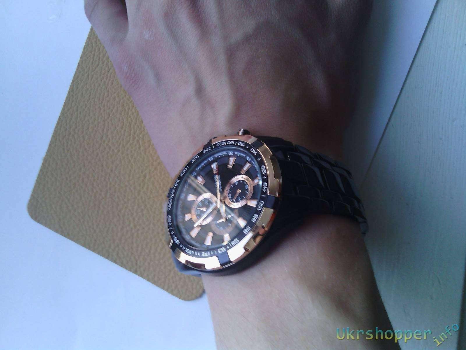 TinyDeal: Мужские часы CURREN