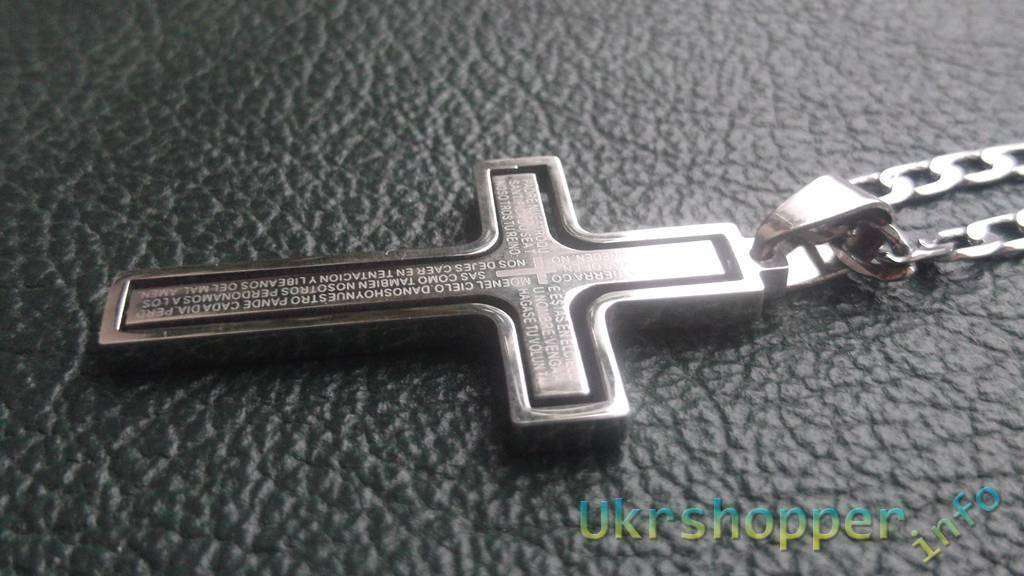 TinyDeal: Крест из титанового сплава