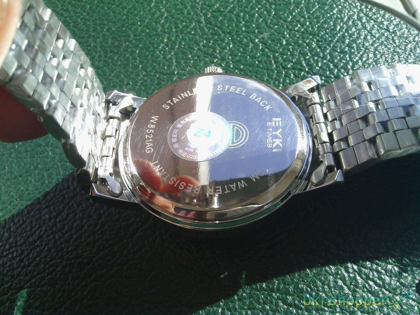 TinyDeal: Элегантные мужские часы от известного бренда EYKI W8521AG