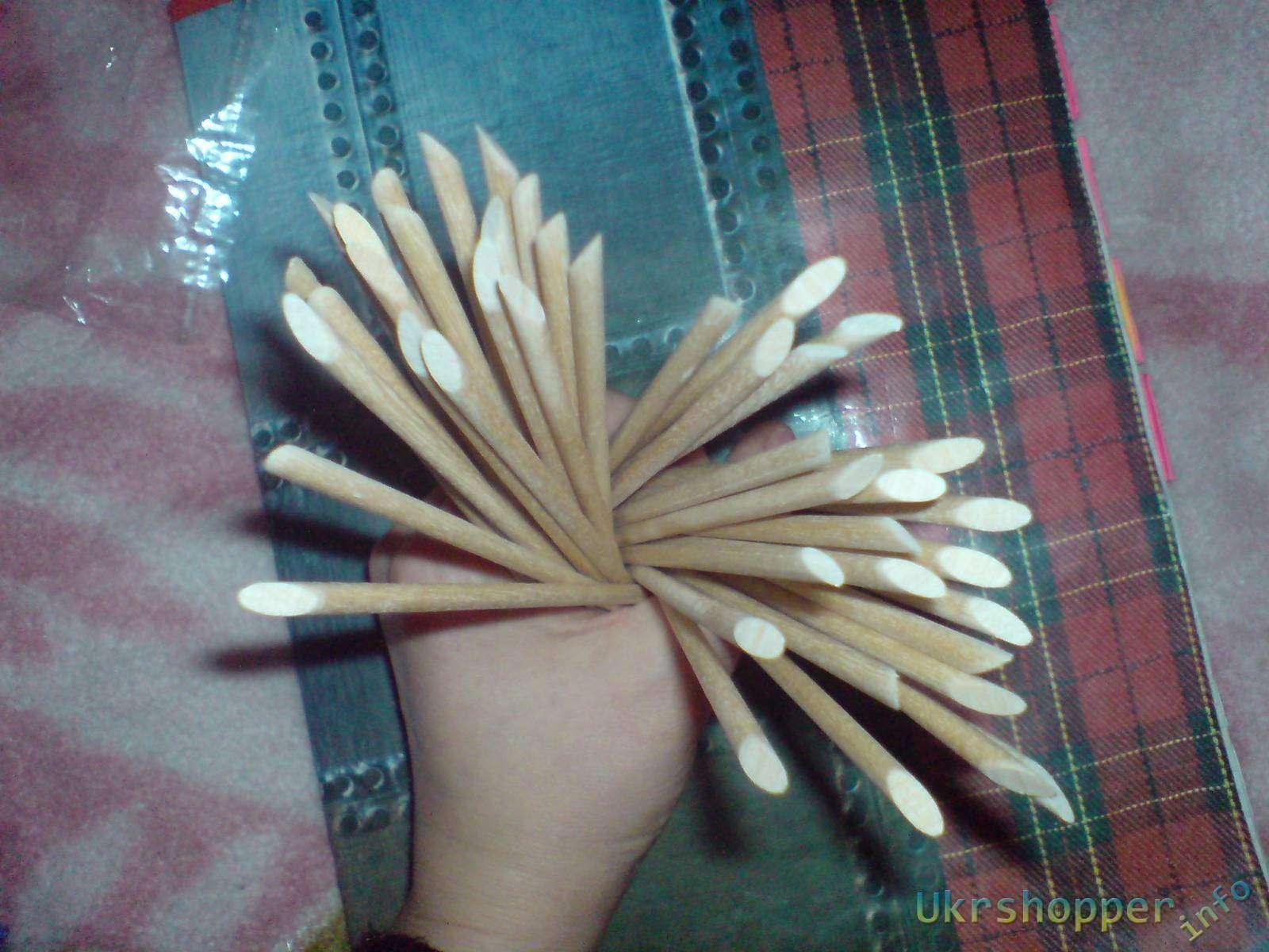 TinyDeal: Маникюрный набор  палочек. 15pcs Professional Nail Art Sticks Nail Care Tool Beauty Item Set for Ladies Girls HCI-162442