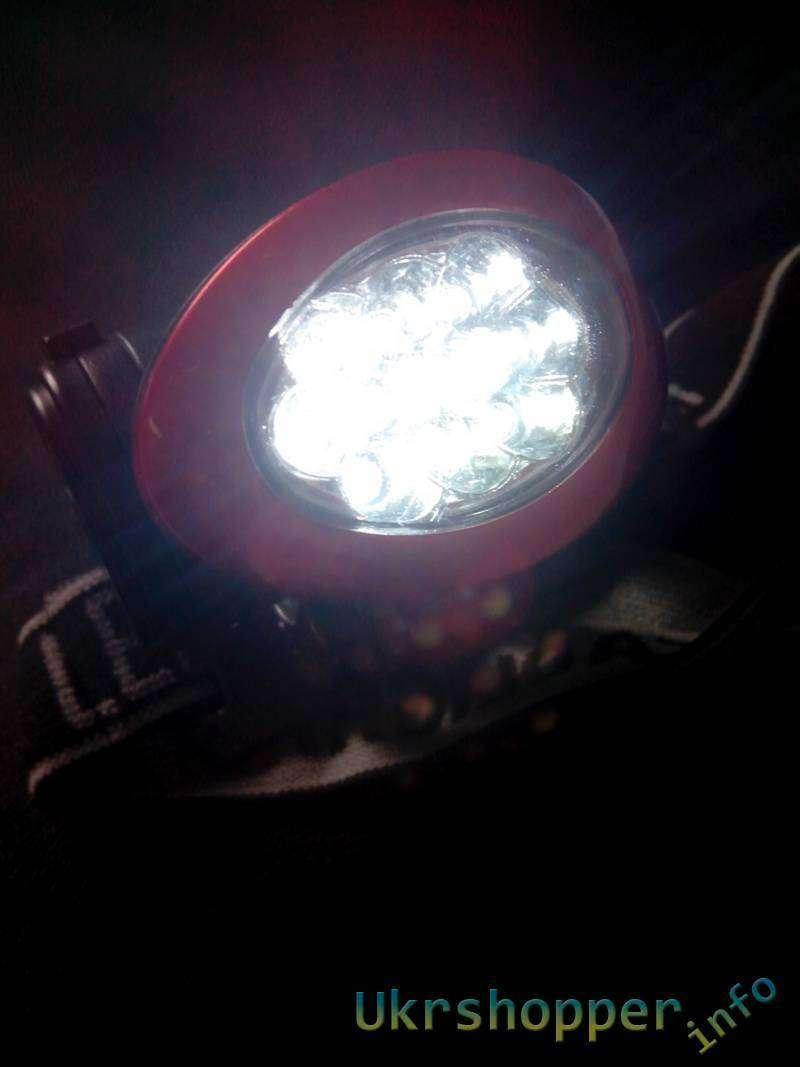 TinyDeal: Наголовной фонарик