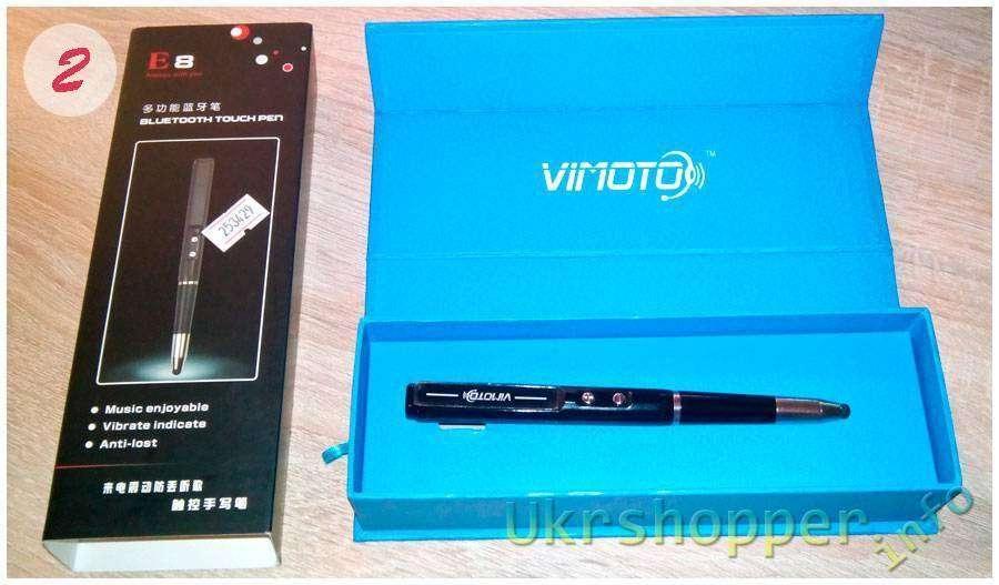 DealExtreme: VIMOTO E8 Стилус - Ручка - БТ гарнитура