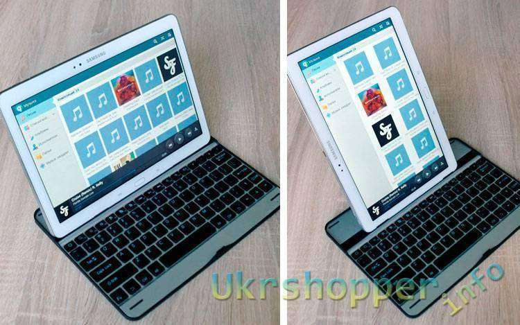 DealExtreme: Keyboard for Samsung Galaxy Note 10,1 2014 Edition P600, Bluetooth v3.0 \ Клавиатура БТ