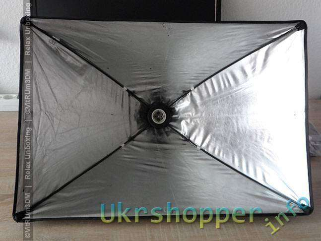Tmart: Студийный свет Cофт-бокс 40x60см