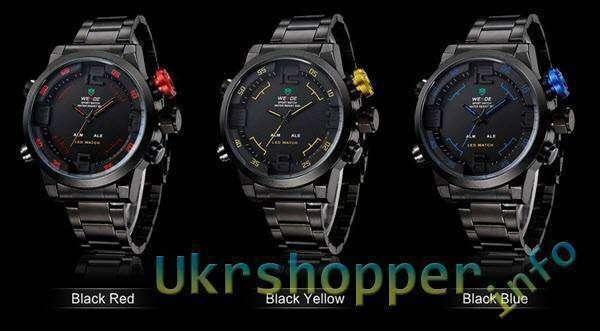 CninaBuye: Часы от фирмы WEIDE Mens Army Military - Ожидание и реальность