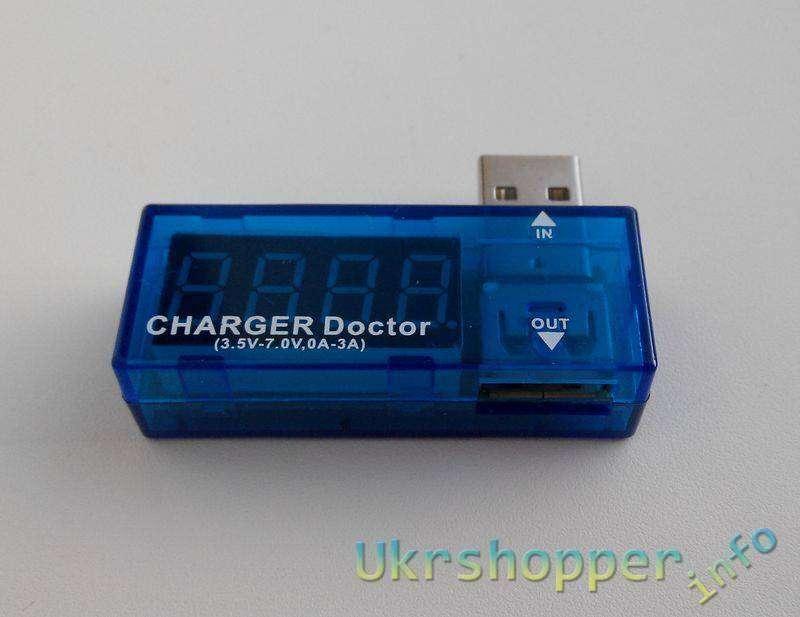 TinyDeal: USB тестер