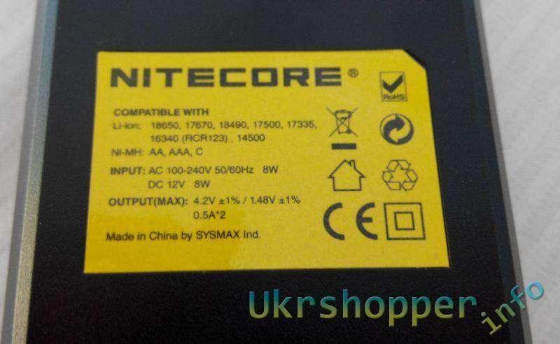 TinyDeal: Обзор зарядного Nitecore I2