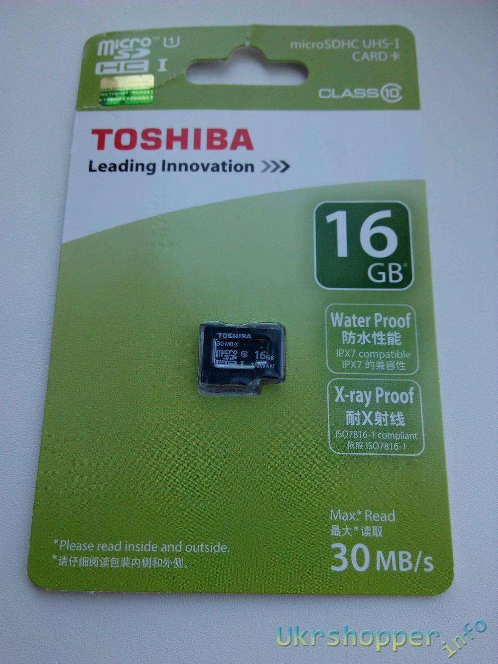 TinyDeal: Micro SD TOSHIBA на 16gb
