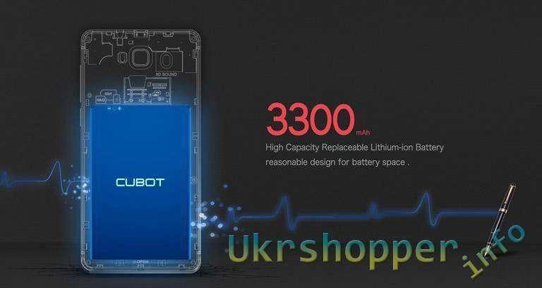 смартфон CUBOT S200  за .99  от TinyDeal