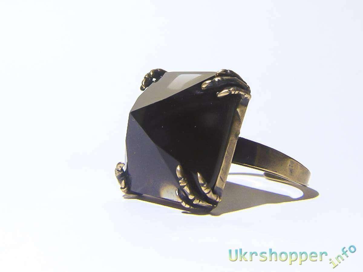 Aliexpress: Обзор кольца с стиле стимпанк - черная пирамида