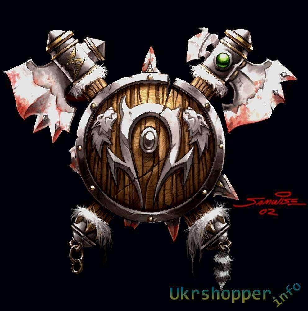 Aliexpress: Кулон - Орки, World of Warcraft