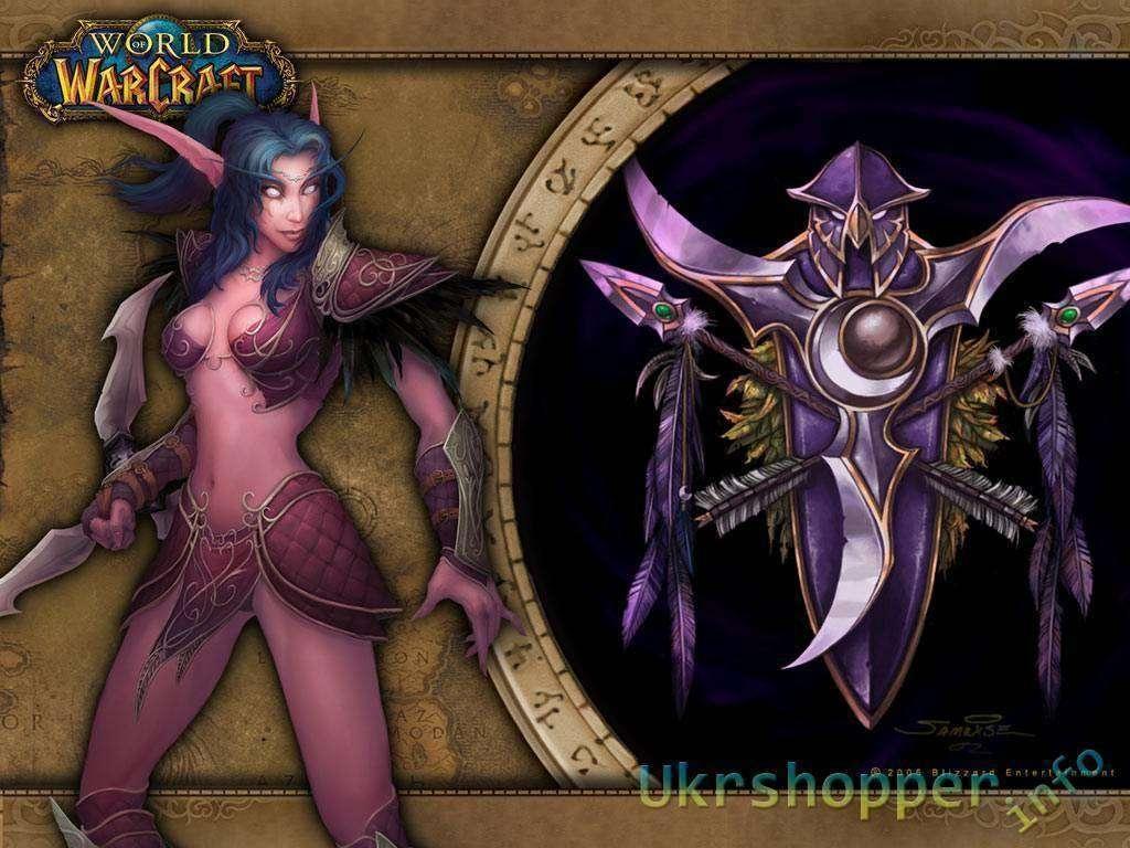 Aliexpress: Кулон - Ночные эльфы, World of Warcraft