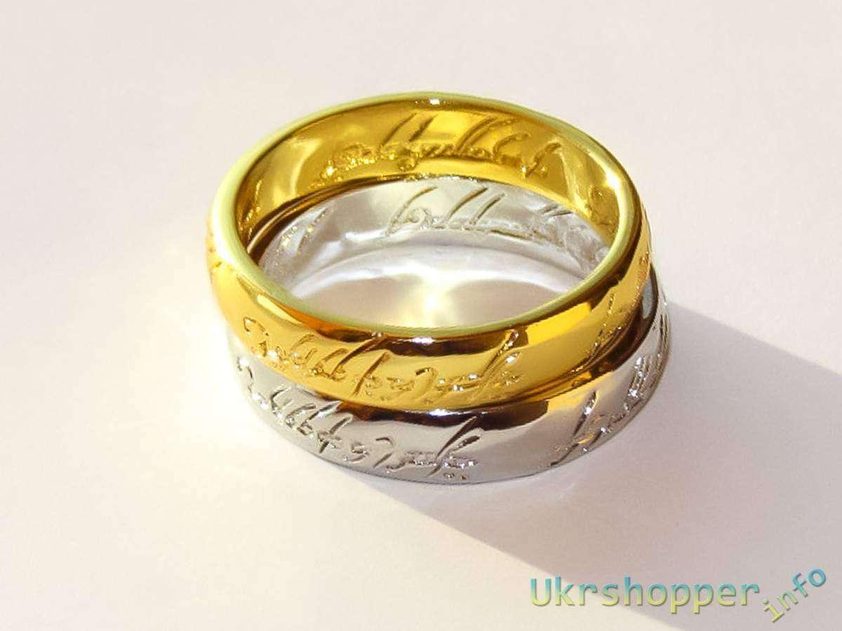 Aliexpress: Наша прелесть - обзор кольца всевластия из фильма Властелин Колец в двух вариантах