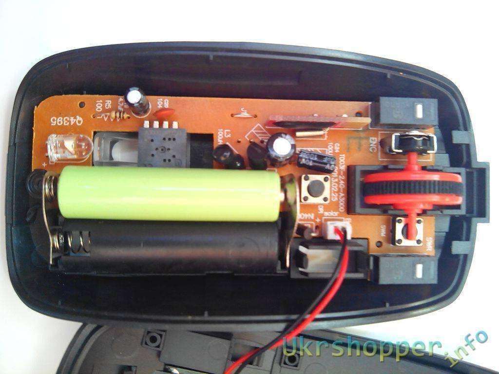 DealExtreme: Беспроводная мышка с зарядкой от солнечной панели.