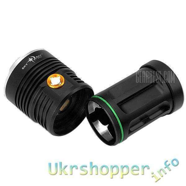 GearBest: Новый купон на фонарь Torch 5 x Cree XM-L T6 LED Flashlight от Gearbest!